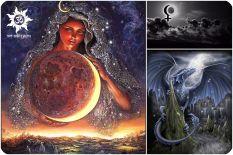 Черная луна в гороскопе – наш внутренний дракон