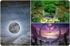 Лунное затмение. Практики. Влияние рода.