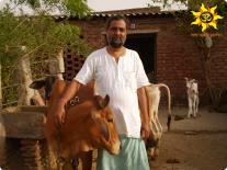 Лакшман Баба благодарит за пожертвования Гошале