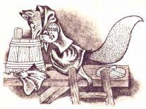 Лиса-повитуха